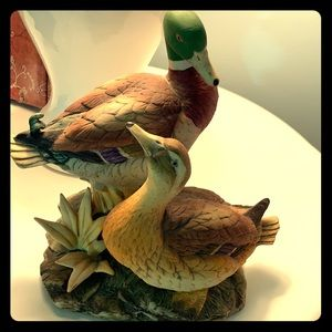 Ethan Allen vintage mallard ducks porcelain 3209.